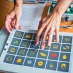 Сенсорная клавиатура «Клавинта» с 14-ю сменными накладками, для пользователей с различными нарушениями моторных функций, для детей с нарушениями зрения и со сложной структурой дефекта