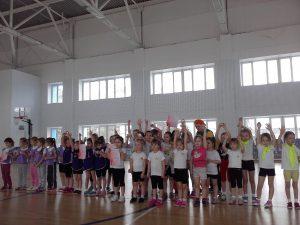 дети спорт весна