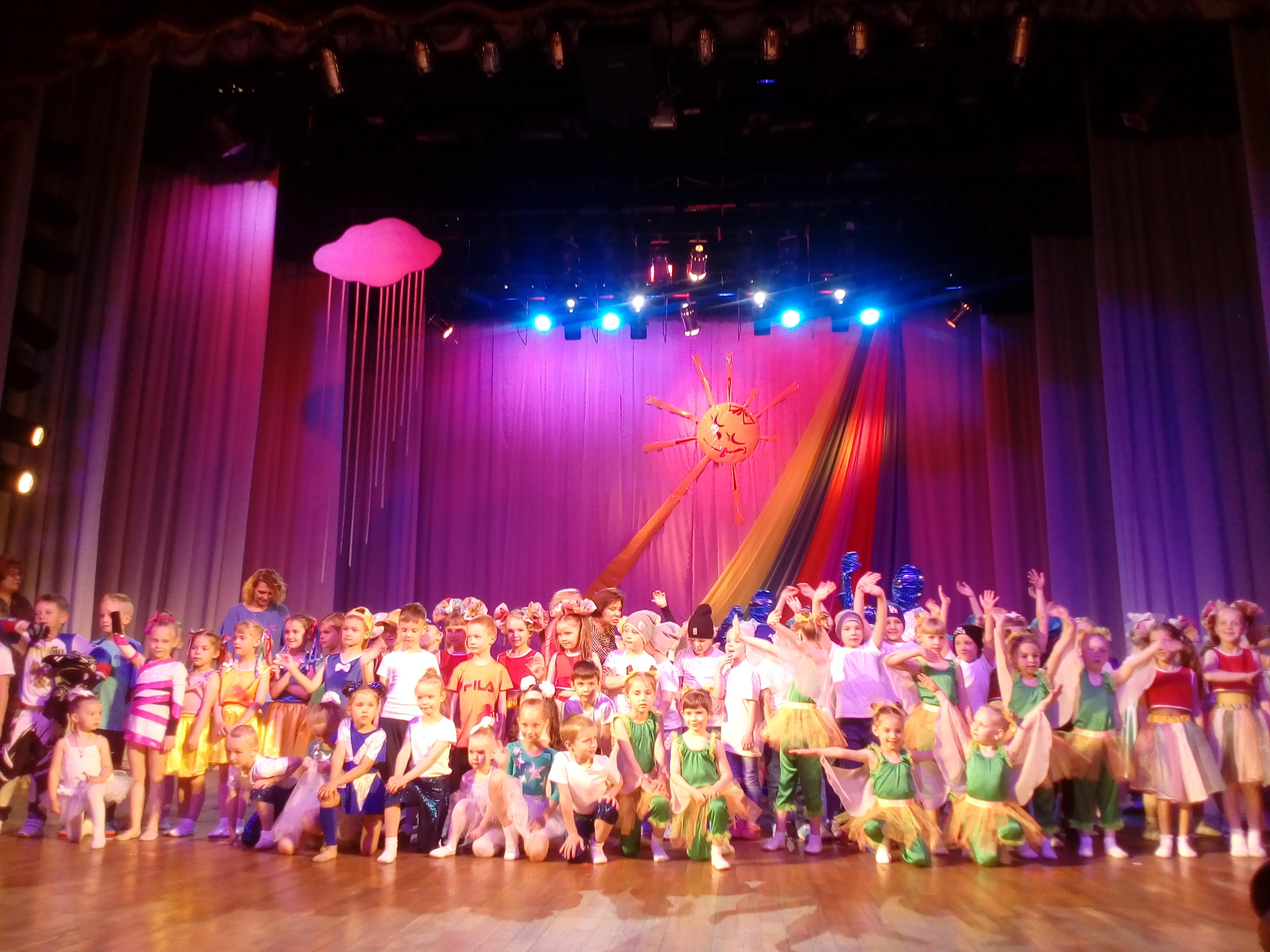 Фестиваль дошкольников во дворце культуры «Октябрь»